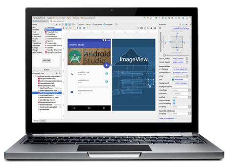 Android Studio - The Official IDE for Android provides the fastest tool to build applications on every type of Android device