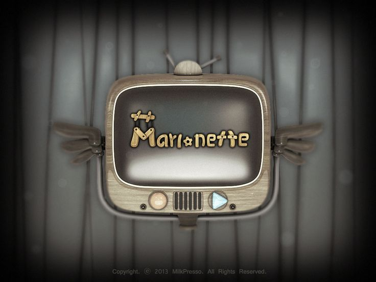 Logo of Marionette, Intro  Art By Clueme
