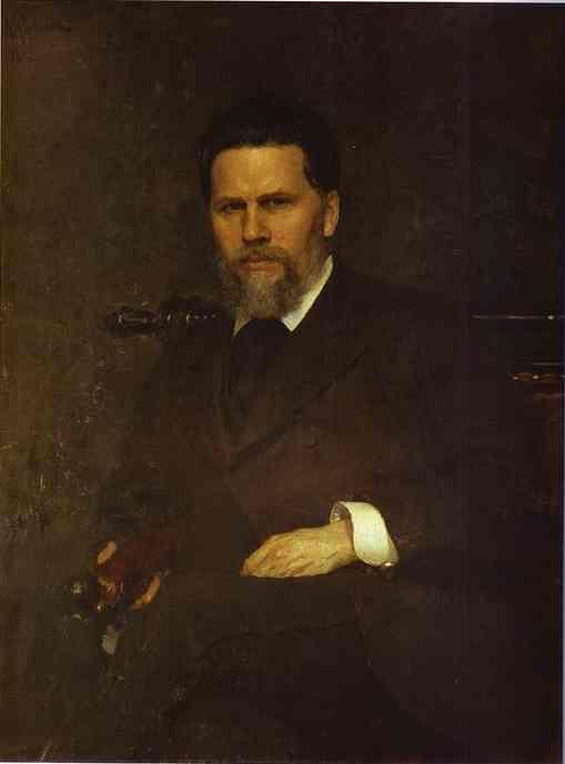 Πορτρέτο του ζωγράφου Ivan Kramskoy. (1882)