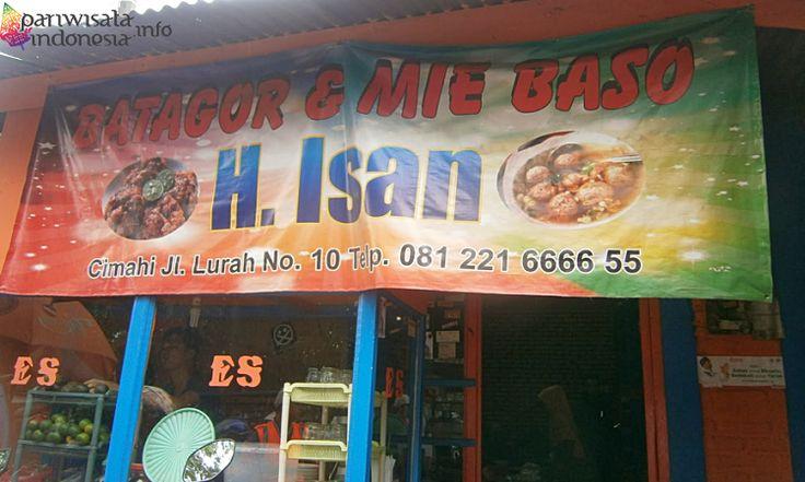 Wisata Kuliner Bandung Hanya Di Batagor H Isan