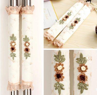 Cheap refrigerador encaje nevera cubierta de la manija for Decoracion del hogar facil y economico
