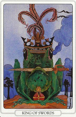 Free Daily Tarotscope -- Mar 28, 2014 -- King of Swords   You may have to put your foot down today and be stern with someone that you've let slide in the past. Alternately you may be on the receiving end of someone else's objective and impartial sense of discipline...