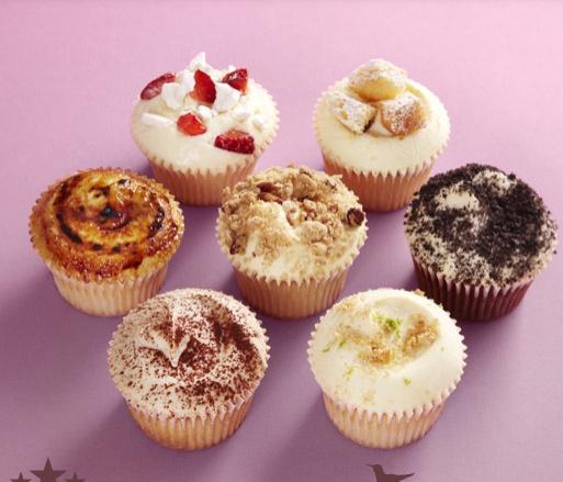 the hummingbird cupcakes