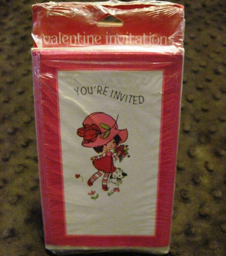 Details über VTG American Greetings Valentinstag Party Einladungen Sealed Made …