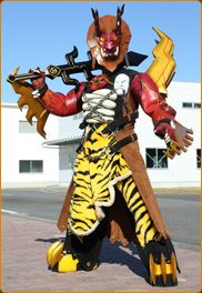 I searched for power rangers dino charge fury images on Bing and found this from http://powerrangers.wikia.com/wiki/Fury