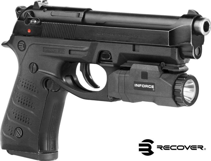 BC2 Beretta Grip & Rail System for the Beretta 92 M9 - recover-tactical-new - 9