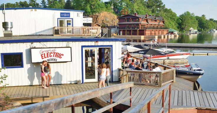 Muskoka northern Ontario port carling cool spots