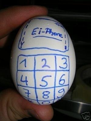 Leuk voor Pasen, de Ei Phone