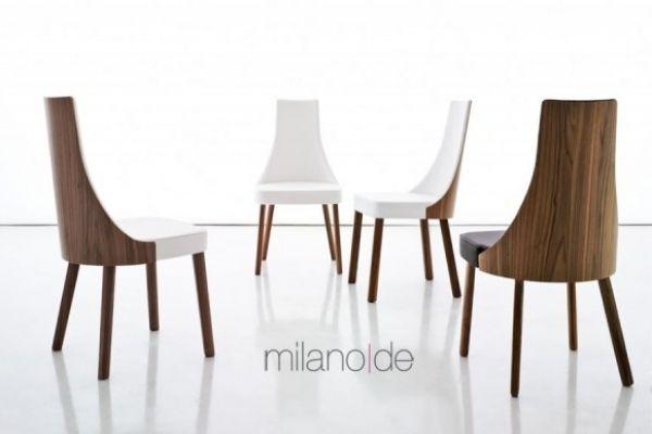 Επενδυμένη καρέκλα Mila, η πλάτη,το κάθισμα και τα πόδια διατίθονται σε ξύλο καρυδιάς ή σε eco leather.  https://www.milanode.gr/product/gr/2204/%CE%BA%CE%B1%CF%81%CE%AD%CE%BA%CE%BB%CE%B1_mila.html  #καρεκλα #καρεκλες #επιπλο #επιπλα #μοντερνο #μοντερνα