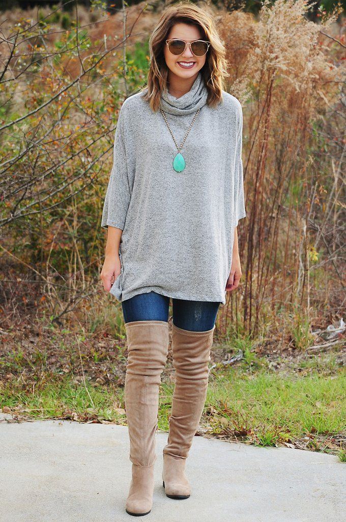 The Hope Sweater: Gray