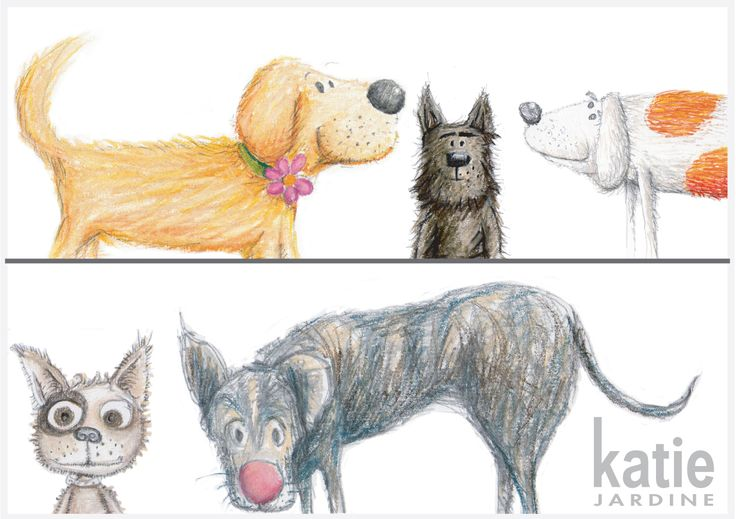 so which dog do you think you would be? - dog illustration