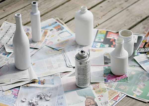 Do-It-Yourself, Upcycled Polymer Clay Flower Vases | Busy Mommy: An Iowa Mom Blog
