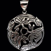 * Solid Sterling Silver 92.5% (Stamped) * Excellent Finishing * Free Shipping * Guaranteed for Life * Weight: 7.5 grams * Dimensions of Pendant: 32mm W x 32mm H  Product Code: CP-007S  Sold without a chain.  Like all of our products this pendant is guaranteed for life.