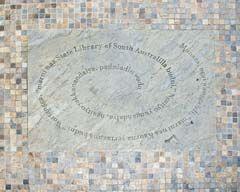 Kaurna greeting stone