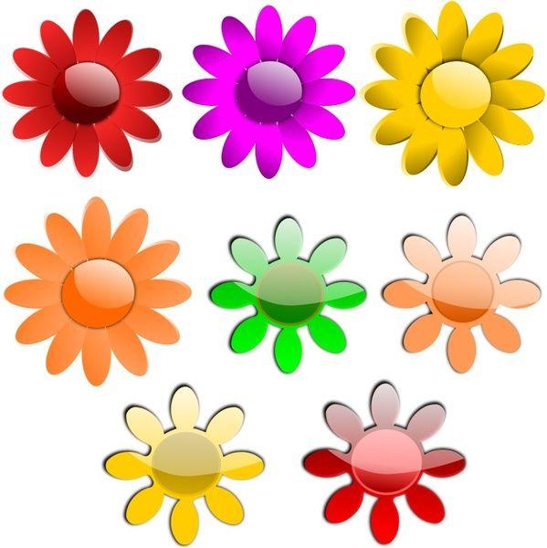 Flores vector vectores gratis para su descarga gratuita (alrededor ...
