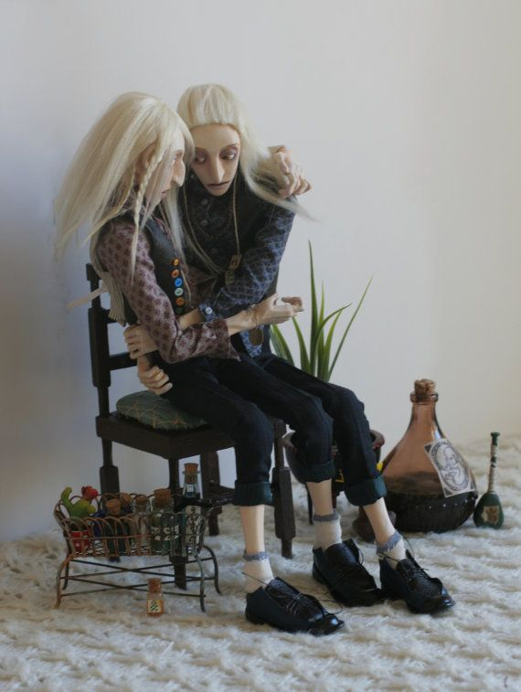 This doll was made following a wonderful novel written by Mariam Petrosyan The House that. The model is made of white plastic and painted by