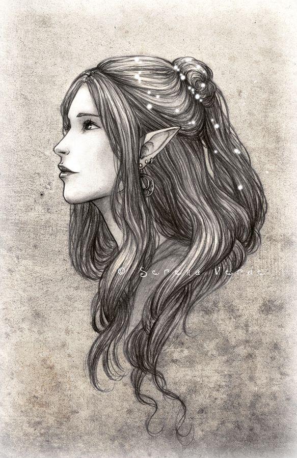 Daughter of the Black Elves by NadezhdaVasile.deviantart.com on @deviantART