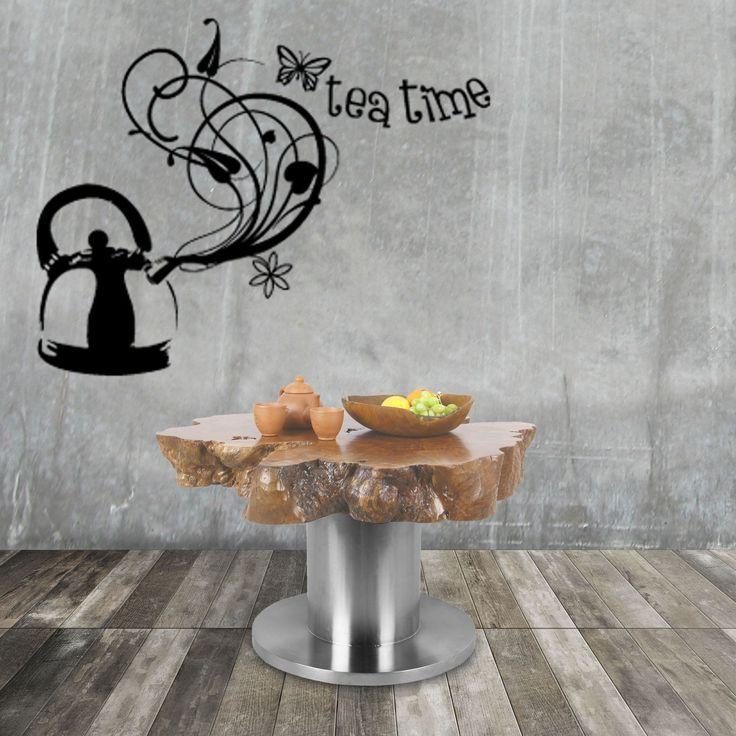 Coffee table Mirage dibuat dari potongan Kayu  Kelengkeng yang tebal dan utuh, potongan dari ujung pangkal pada pohonnya. Tepi kayu yang terlihat alami mengingatkan kita pada bentuk tebing-tebing di pantai. Permukaan atas dan bawah diratakan dan diampelas untuk kesempurnaan yang pas dan diberi warna dengan beberapa mantel pernis. Untuk mengimbangi bagian atas pohon yang luar biasa, digunakan dasar stainless steel yang disikat. Proporsi meja yang dibuat dengan sangat stabil, dibuat dengan…
