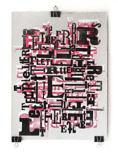 work by cabaret typographie