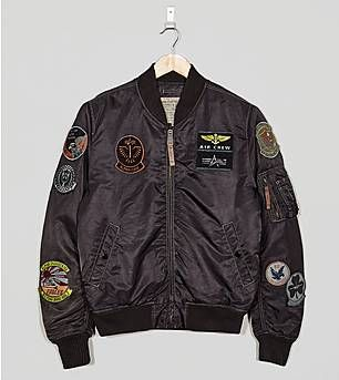 Alpha Industries MA-1 Pilot Badge Jacket