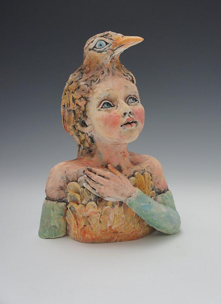 ceramic sculpture - Google Search, Figurative ceramic sculpture, sculpture in clay. Victoria Rose Martin.