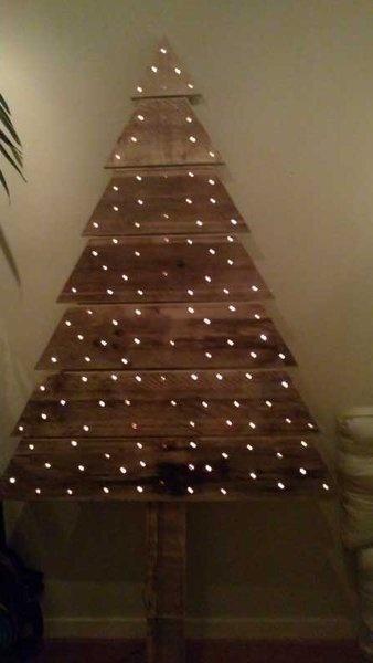 Kerstboom sloophout #2