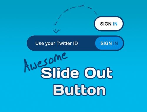 AWESOME CSS3 & JQUERY SLIDE OUT BUTTON (http://tympanus.net/codrops/2010/02/08/awesome-css3-jquery-slide-out-button/)