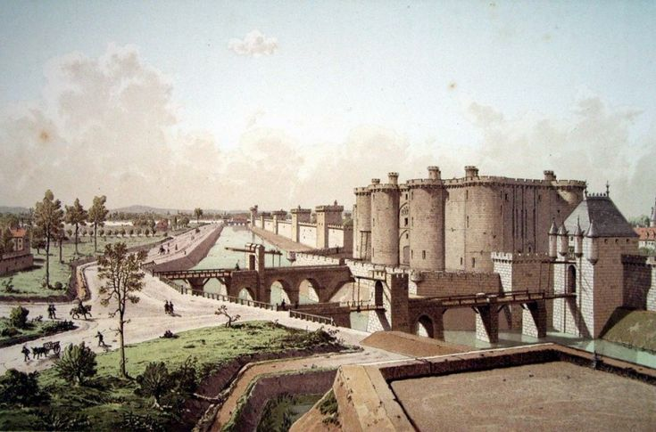 bastille prison destroyed