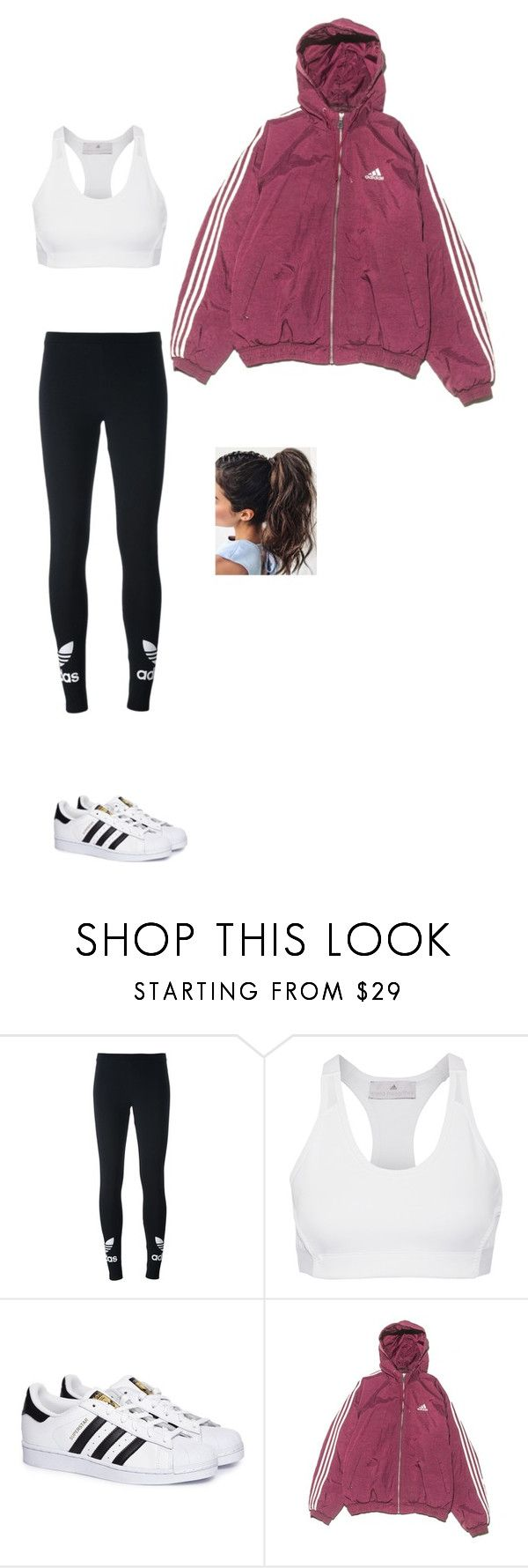 """Adidas"" by ericanunes on Polyvore featuring adidas Originals and adidas"