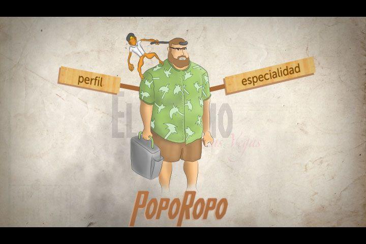 Personajes para comercial promocional de antiheroes / El Colmo de Las Vegas / POPOROPO
