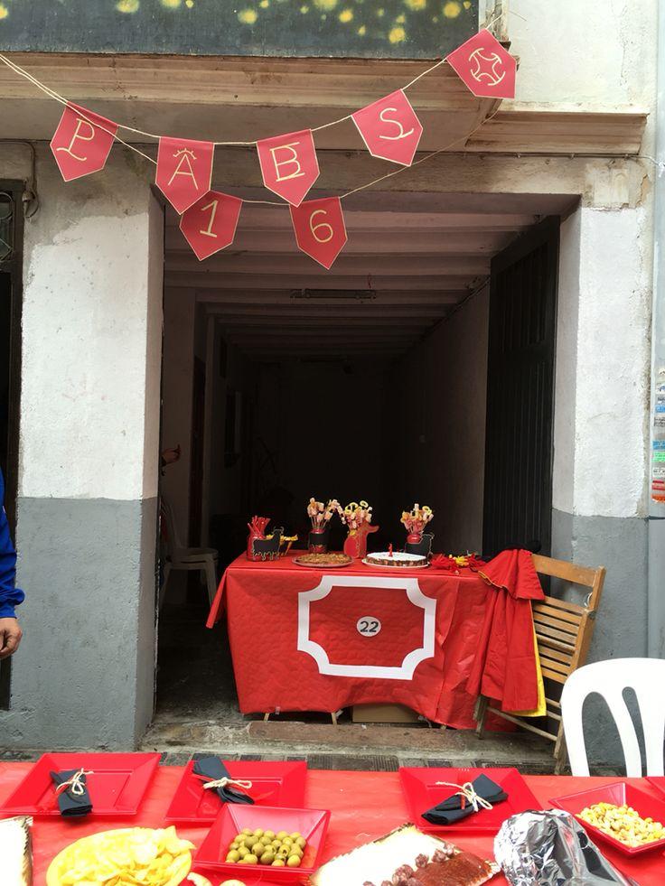 Decoraci n taurina fiesta de cumplea os taurina espa ola - Decoracion party ...