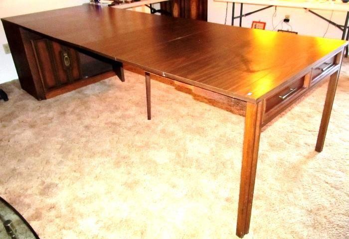 retro kitchen tables acrylic sinks found on estatesales.net: vintage saginaw telescoping ...