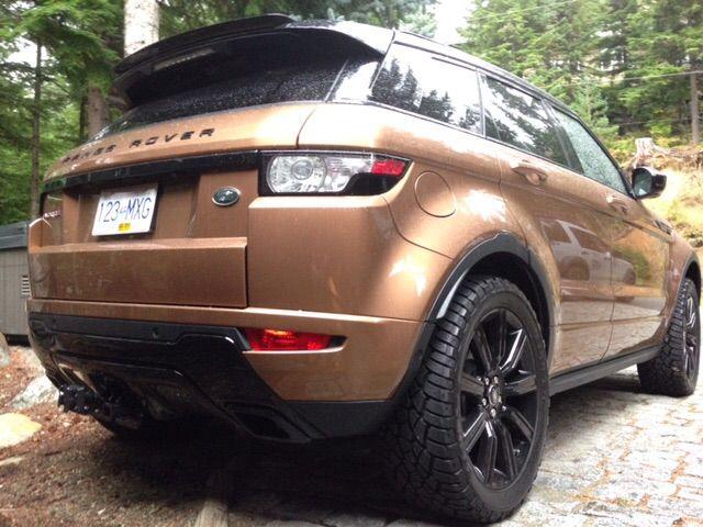 Evoque Lift Kit - Range Rover Evoque Forums
