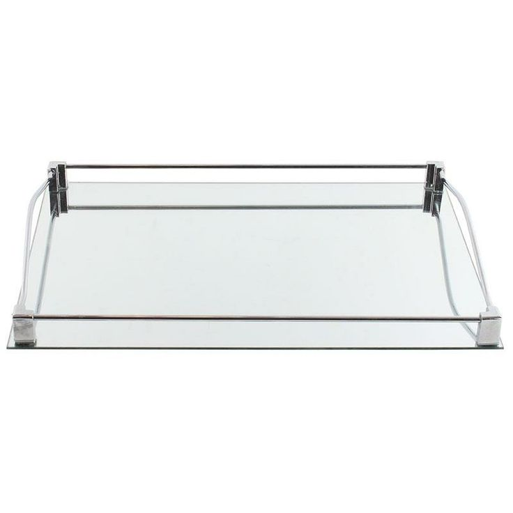 Mirror tray with metal details www.inart.com