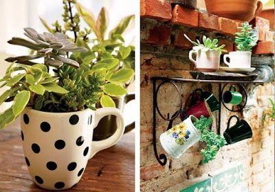 Coisas de Casa e Tal...: 25 ideias para reutilizar itens da cozinha na decoração