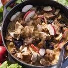 Fläskgryta med plommon och äpple - Recept - Mitt Kök