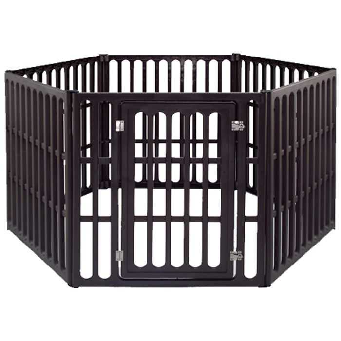 Heavy Duty Plastic Pet Pen with Door