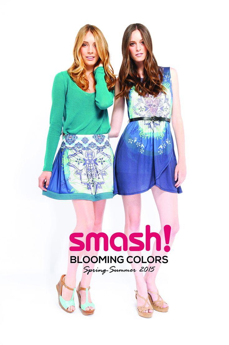 #summer #dress #smash #barcelona #blue #turquoise