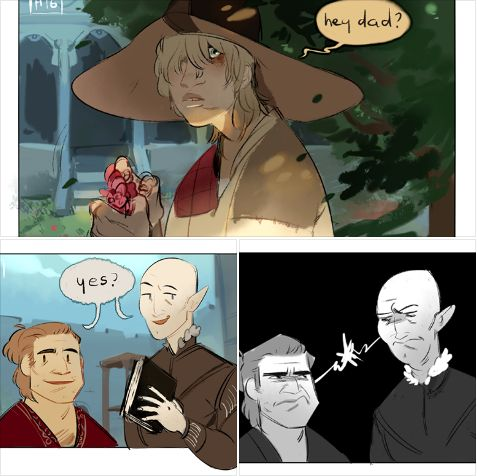 Varric and Solas disagree over Cole. A lot. Dragon Age: Inquisition