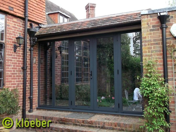 Aluminium French Doors Kloeber 2 1