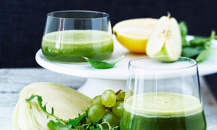 brokkolijuice med granateple