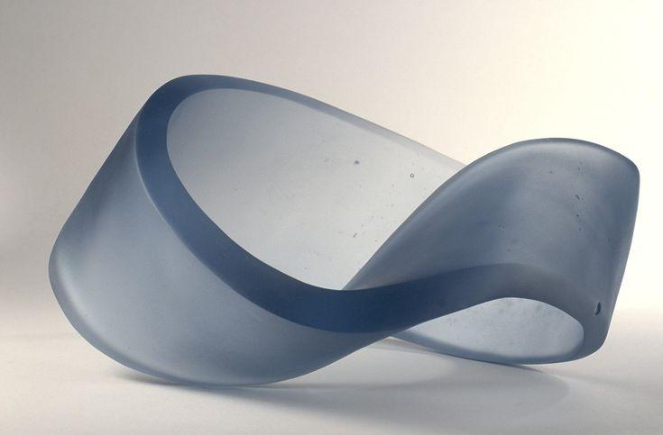 Mobius strip [slide]. | Corning Museum of Glass Artist- Cathie, Christine