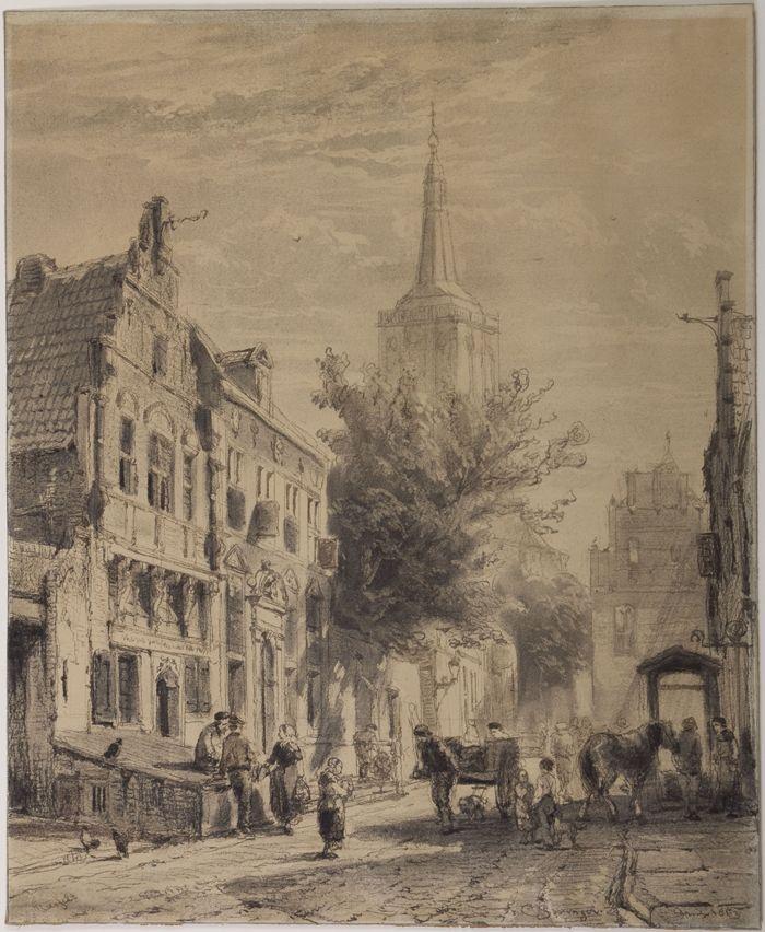 05263_Cornelis_Springer_Nieuwstraat_Hasselt