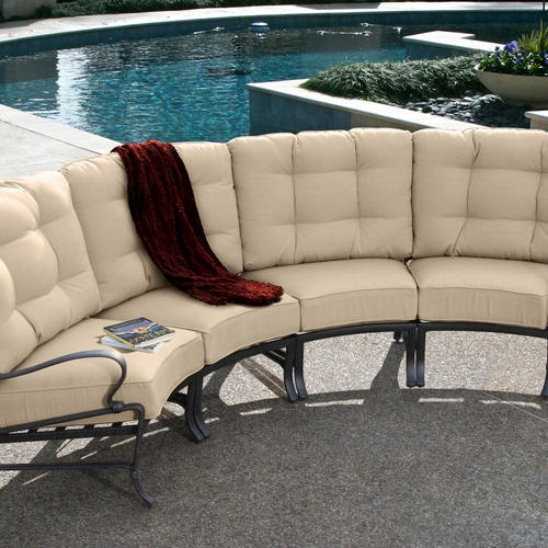 Bonami Crescent Sectional at Menards | Outdoor furniture ...