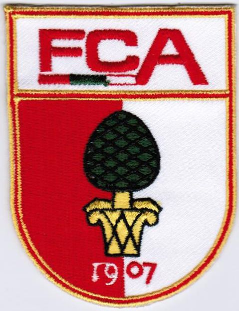 Bundesliga FC Augsburg 1907 Germany Football Soccer Iron On Embroidered Patch