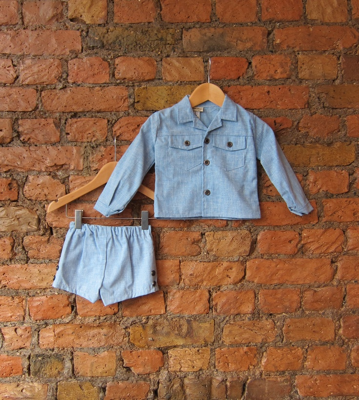 1970's boys outfit £19  http://vintagethreadspeckham.wordpress.com/2012/06/10/two-at-a-time/