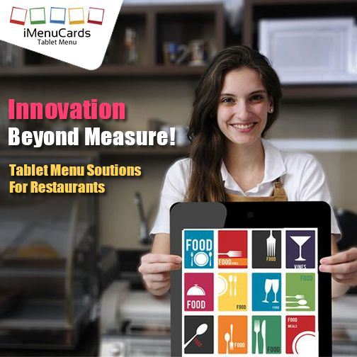 iMenuCards offers the best tablet menu development solutions. If you want to know more, click here: http://www.imenucards.in/ #DigitalMenu #iMenuCards