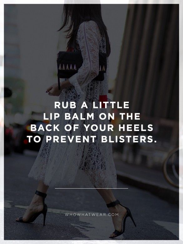 #StyleHack: Break out your favorite heels this season thanks to this anti-blister trick