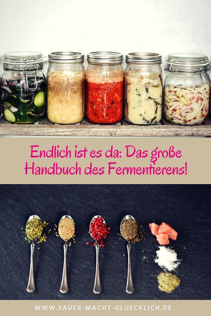 Endlich Ist Es Da Das Grosse Handbuch Des Fermentierens Fermentieren Rezepte Und Kimchi
