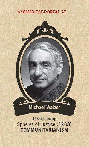 Michael Walzer 1935- Spheres of Justice (1983) COMMUNITARIANISM